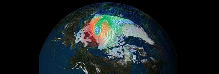 Big arctic Storm 2012